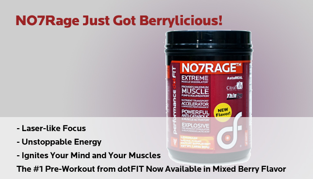 NO7 Rage - Mixed Berry