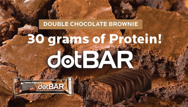 dotBAR - Double Chocolate Brownie High Protein