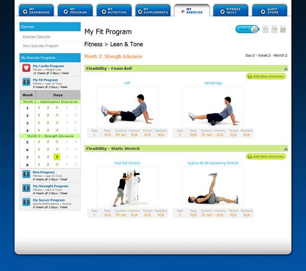 Exercise Program Design Template Photos
